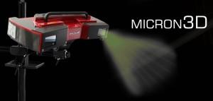 Escaner de luz verde estructurada SMARTTECH