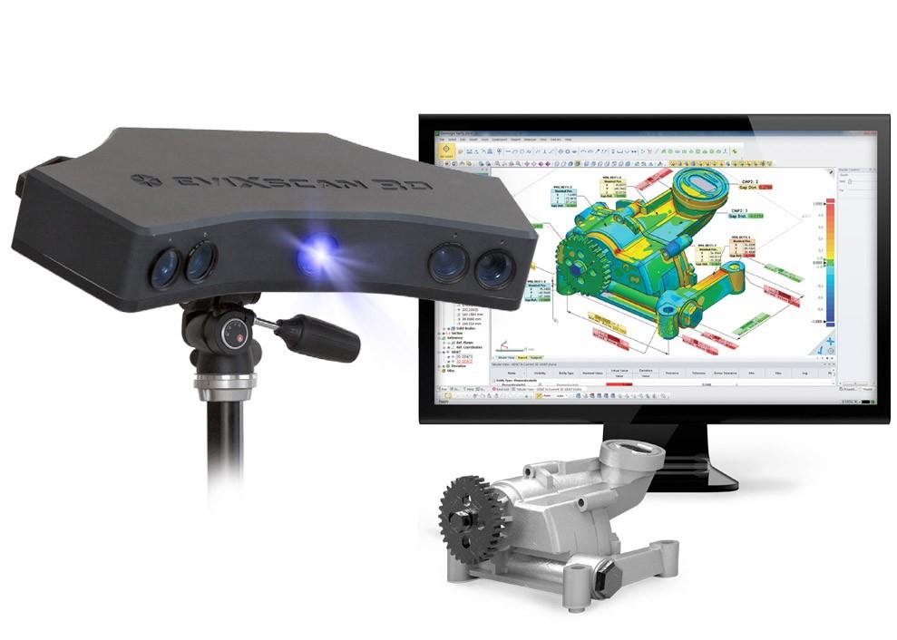 Escaner 3D  Heavy Duty Quadro 3D scanner