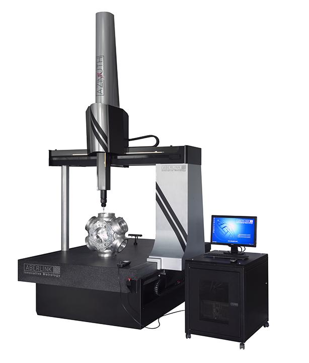 Máquina tridimensional tipo pórtico Azimuth Aberlink
